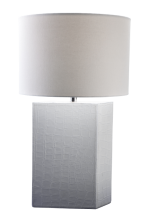 Leather Clad Table Lamp